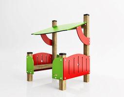 3D asset Children pavilion