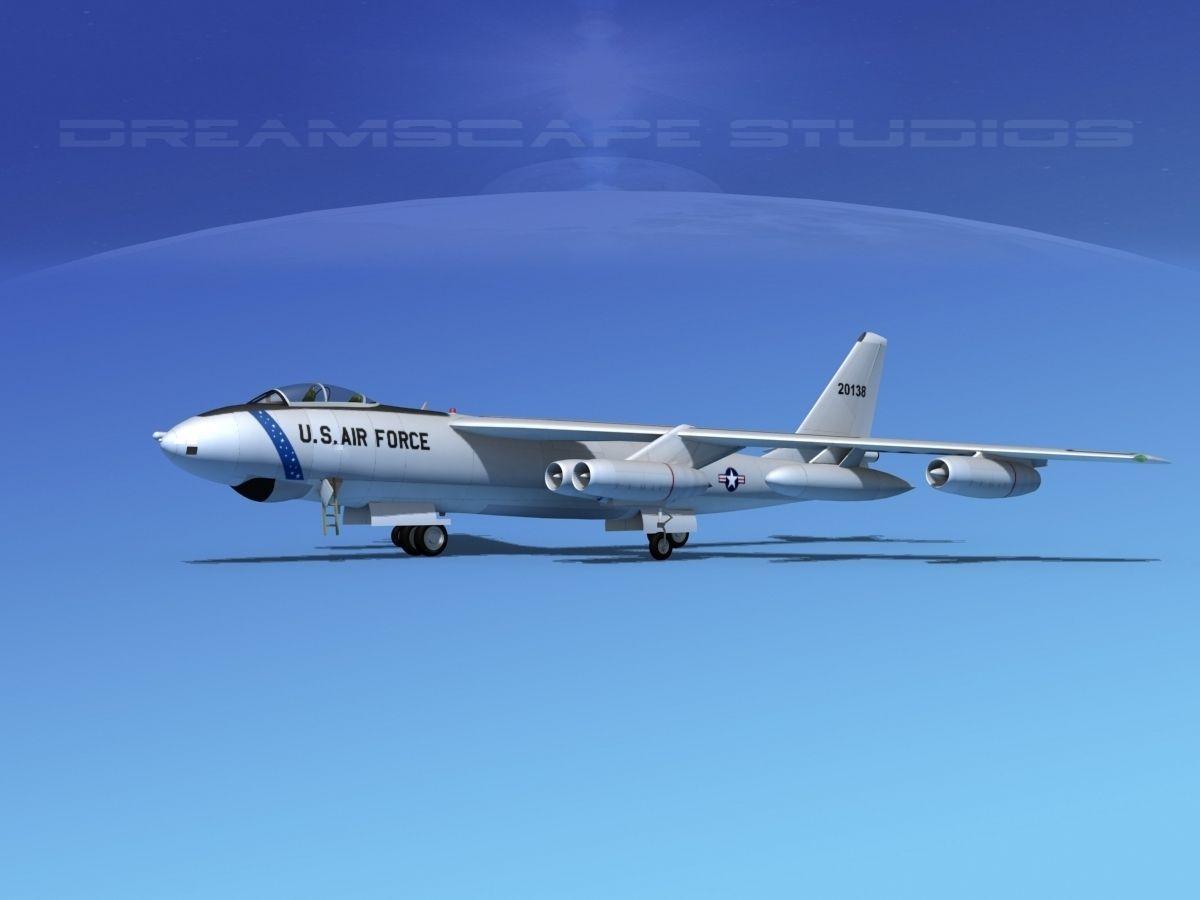 Boeing B-47E Stratojet V01