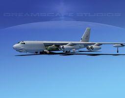 Boeing B-52H Stratofortress V01 3D