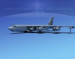 Boeing B-52H Stratofortress V05 3D model