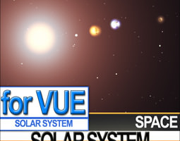 Solar System Planets Photoreal 3D