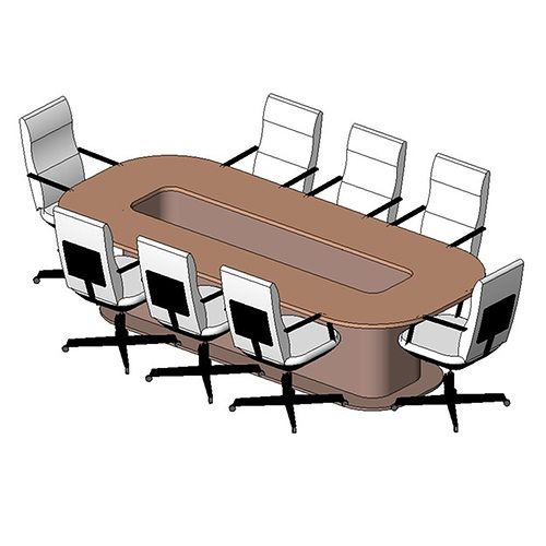 D Model Table Conference Seater CGTrader - 8 seater conference table