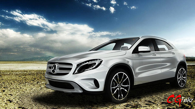 3d model mercedes benz gla 2015 cgtrader for Mercedes benz suv models list
