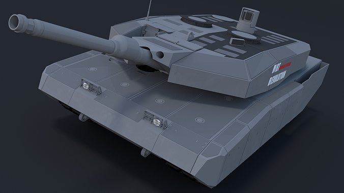 e4e2c35202a5 Leopard MBT REVOLUTION 3D model