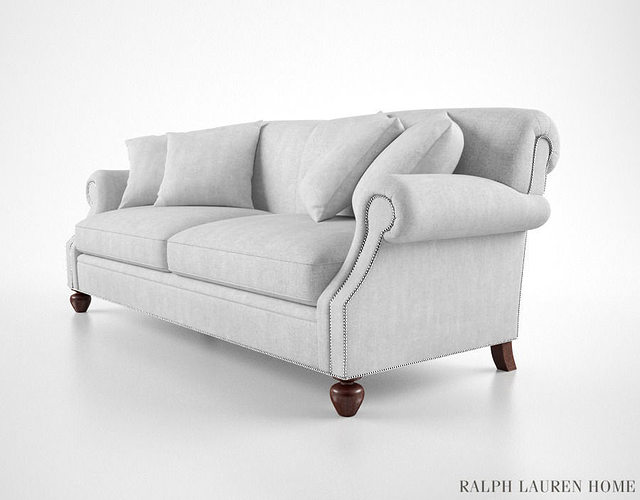 Exceptional Ralph Lauren Sofa 3D Model