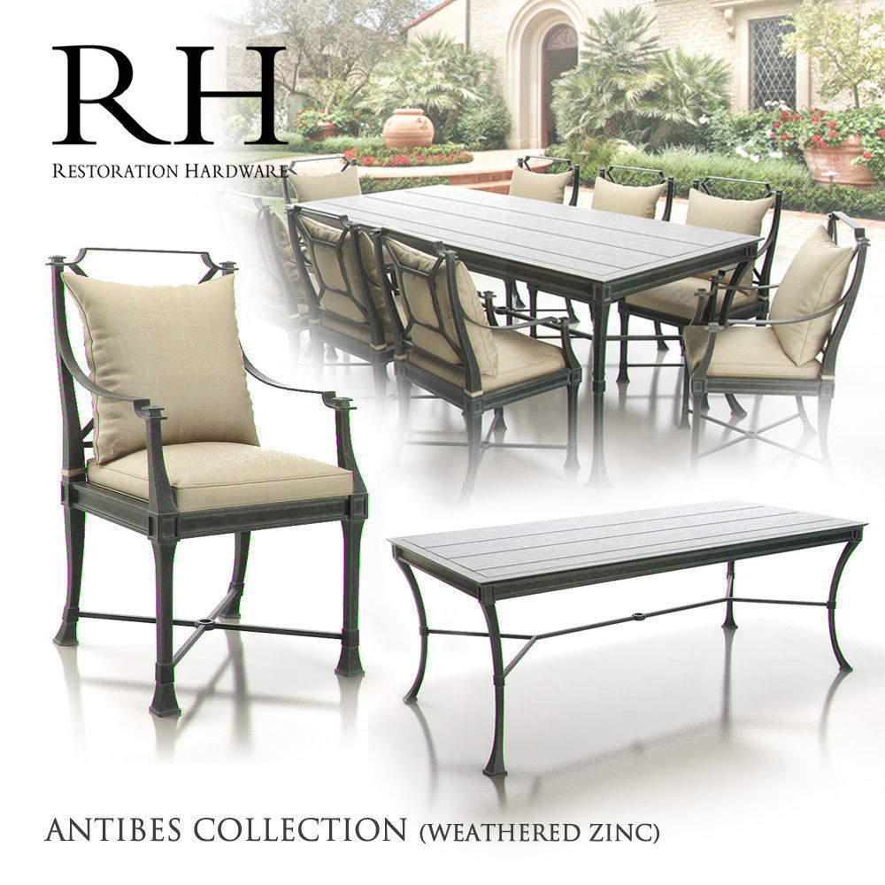 Restoration Hardware - Antibes Collection 3D model MAX