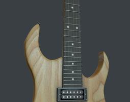 3D model Wood electra guitar