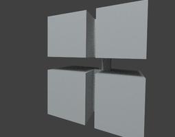 3D test model for Windows