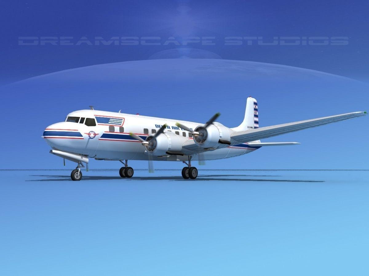Douglas DC-6 Delta Airlines 1