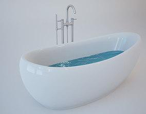 3D model Bath Tub bathroom