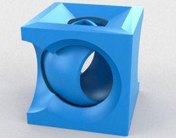 Cubesphere 3D print model