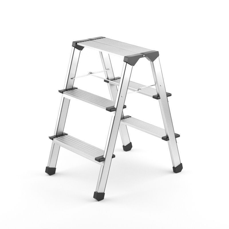 Step Ladder 3D Model MAX OBJ 3DS FBX