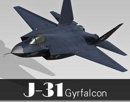 3d model shenyang j-31