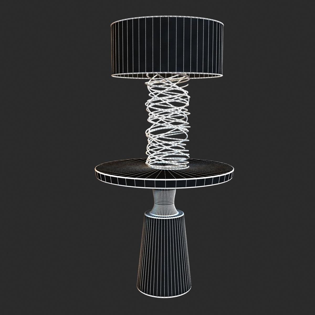 Charming ... Ralph Pucci Table Lighting Tornado Lamp 3d Model Max Obj 3ds Fbx Mtl 7  ... Design Ideas