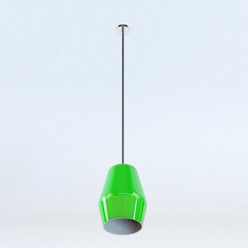 Pendant Lamp A006 3D Model MAX OBJ 3DS FBX