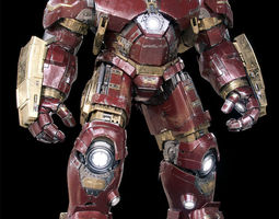 Iron Man Mark 44 - Hulkbuster Armor 3D