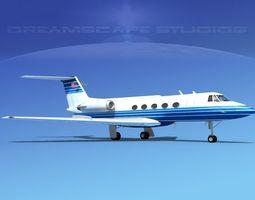 3D model Grumman Gulfstream C-IIB V12
