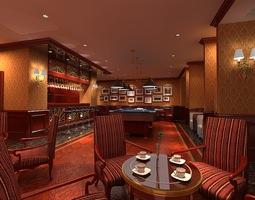 lounge 073 3d model
