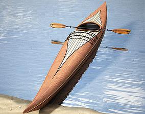 3D Guillemot kayak