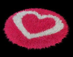 Carpet  Heart 3D Model