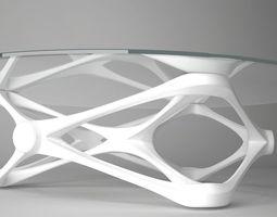 3D model Butter fly table