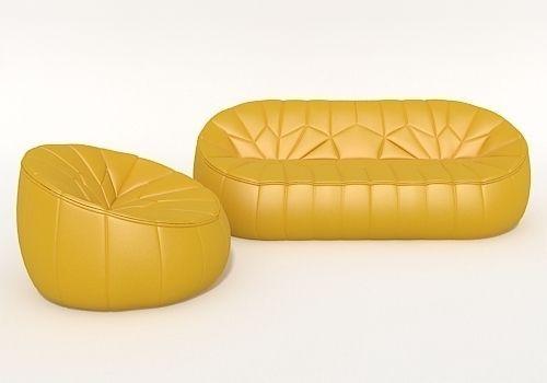 Sofa Ottoman Ligne Roset Model Max Obj Mtl S 1