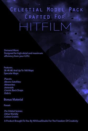 hitfilm celestial model pack  3d model obj 1
