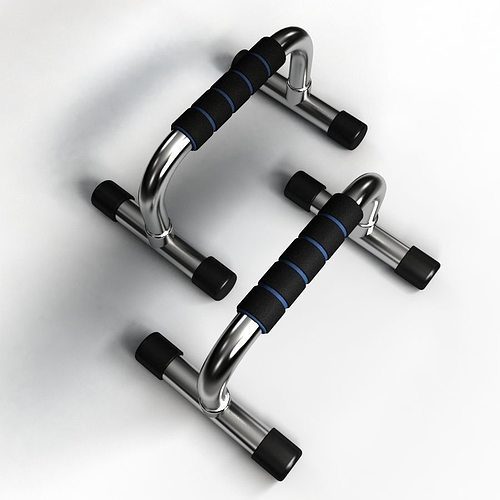push-up bars 3d model max obj mtl fbx 1