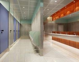 3d public bathroom 080