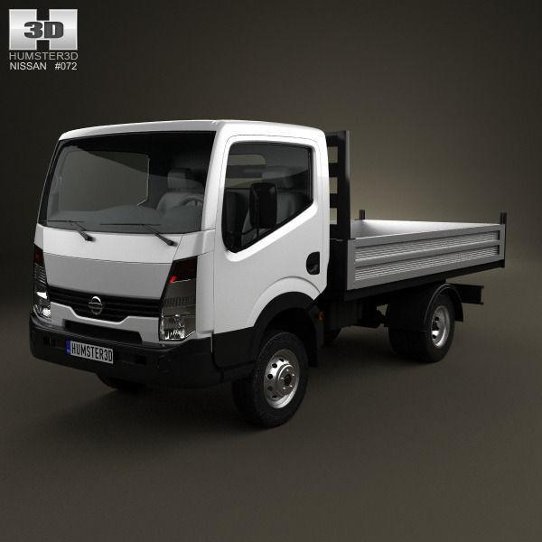 nissan cabstar tipper truck 2006 3d model max obj 3ds fbx c4d lwo lw lws. Black Bedroom Furniture Sets. Home Design Ideas