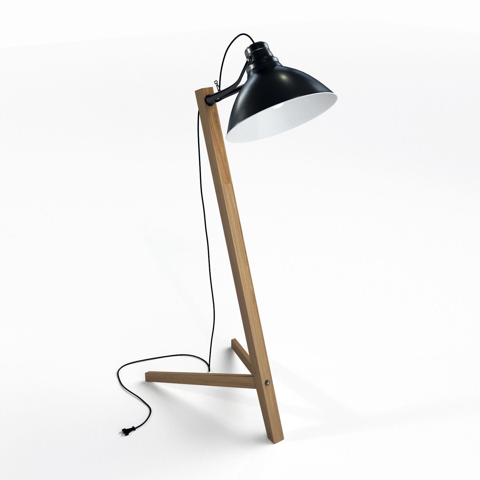 3D model Scandinavian floor lamp   CGTrader