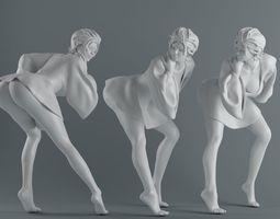 Women wear skirts 004 3D printable model