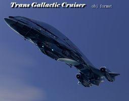 3D model TRANS GALLACTIC CRUISER