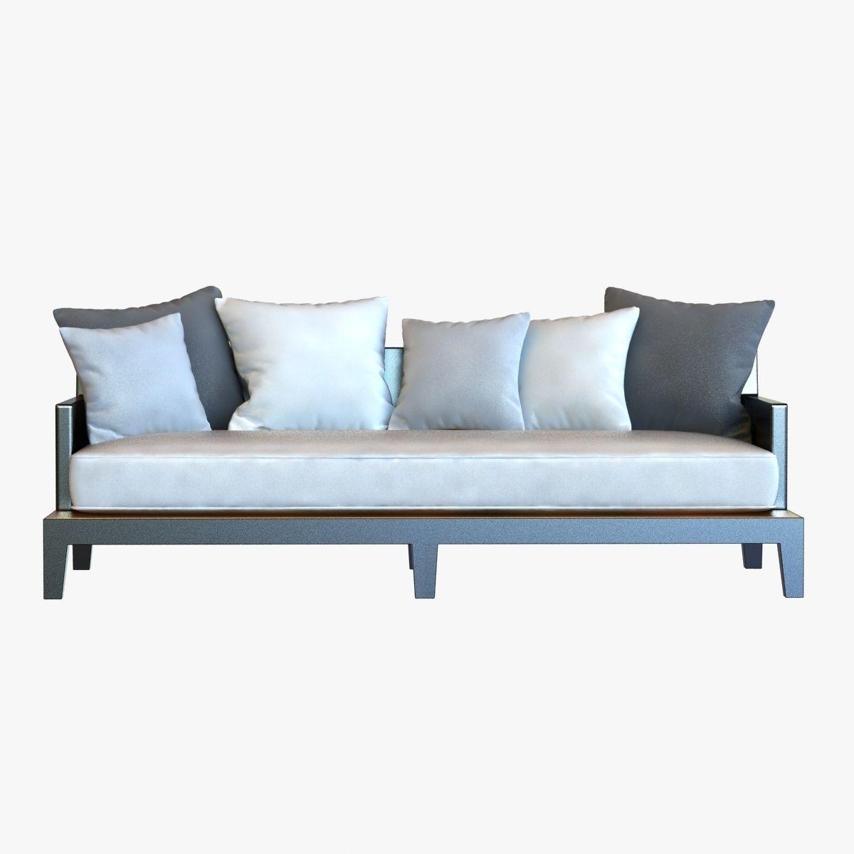 Bon ... Christian Liaigre Sofa For Holly Hunt Opium 3d Model Max Obj Mtl 3ds  Fbx 2 ...