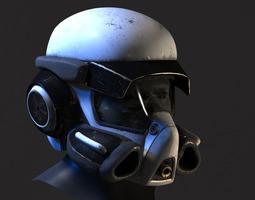 Helmet - scifi 3D