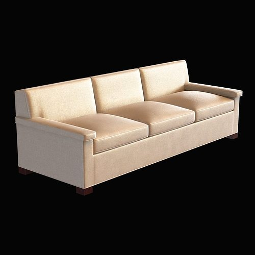 Elegant Models Of Contemporary Sofa Anthony Lawrence Belfair Contemporary Charles Of London Sofa 3D Model MAX OBJ