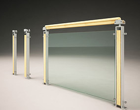 3D Modern Railings