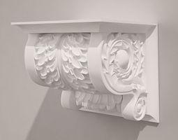 3D model Holder Antique Style