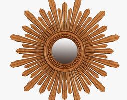 mirror new solar gold 3d model