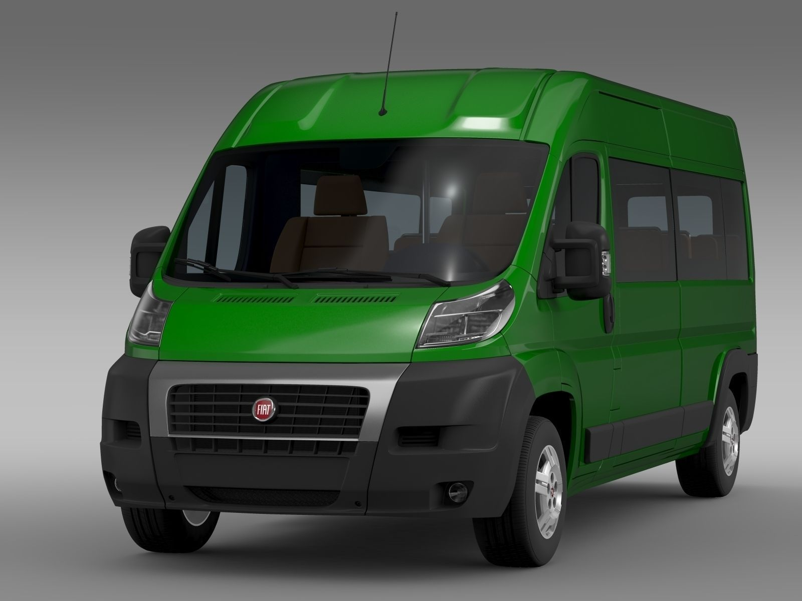 fiat ducato maxi bus l4h2 2006 2014 3d model max obj 3ds. Black Bedroom Furniture Sets. Home Design Ideas