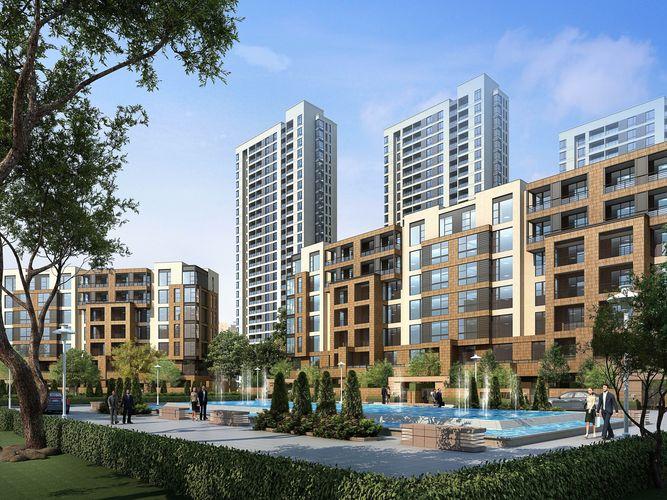 city commercial and residential building design-002 3d model max obj mtl tga 1