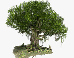 3D Fantastic Tree Model