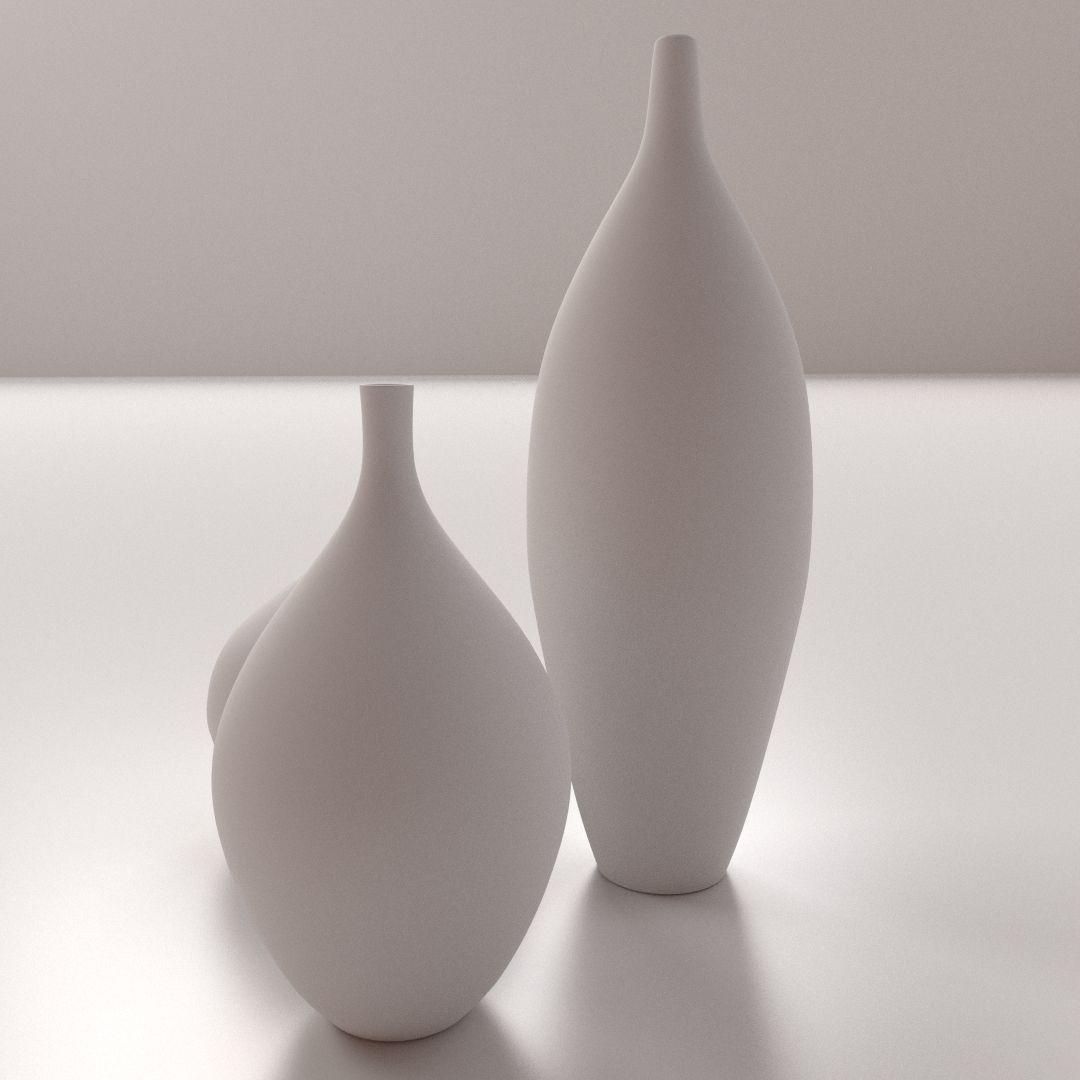 Modern vases 3d model cgtrader modern vases 3d model 3ds fbx blend dae 3 reviewsmspy