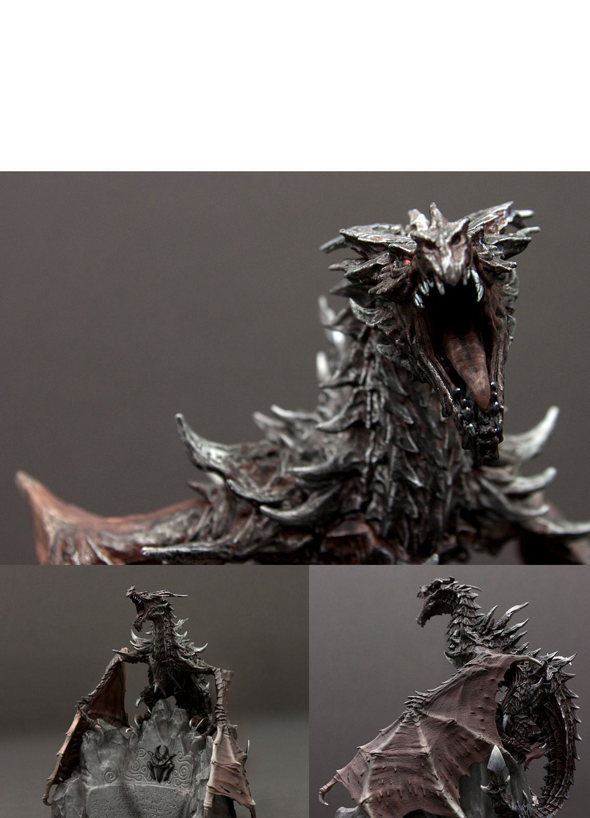 Dragon Elder Scrolls V 3d Model 3d Printable Stl