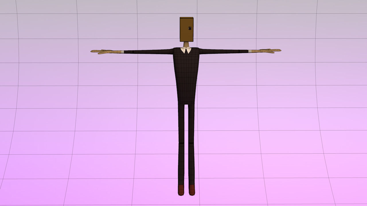 Character Designer Salary : Salary man character d model obj ds c ma mb cgtrader