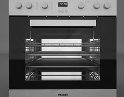 miele h2261 oven miele km6012 electric cooking panel 3d