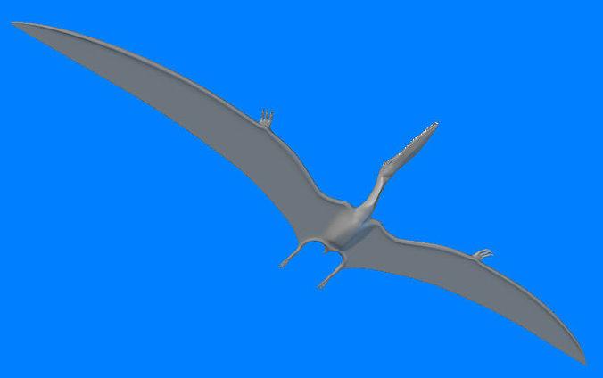 gnathosaurus 3d model obj mtl 3ds lwo lw lws ma mb hrc xsi 1