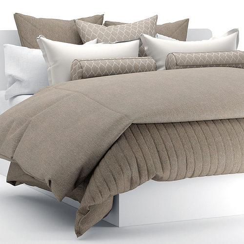 bedclothes  3d model max obj fbx 1