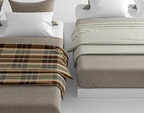 3D Bedclothes plaid