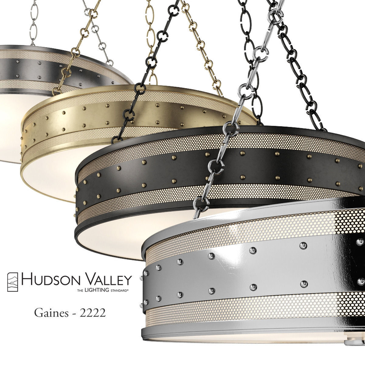 Chandelier hudson valley gaines 2222 3d cgtrader chandelier hudson valley gaines 2222 3d model max obj fbx unitypackage 1 arubaitofo Choice Image
